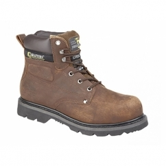 GLADIATOR Unisex SB HRO E SRA Safety Boots Brown