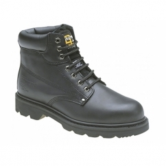 KNIGHT Mens SB SRC Safety Boots Black