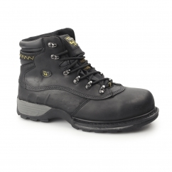 Mens SB HRO SRC WP Leather Safety Boots Black