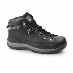 Unisex SB SRA Oily Leather Safety Boots Black