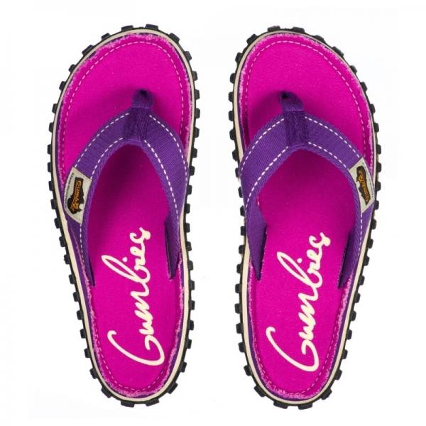 dd31314b435800 Gumbies ISLANDER Ladies Summer Flip Flops Purple