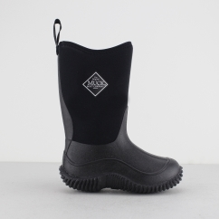 HALE Kids Rubber Wellington Boots Black