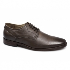 PAYTON Mens Leather Goodyear Welted Shoes Mid Brown