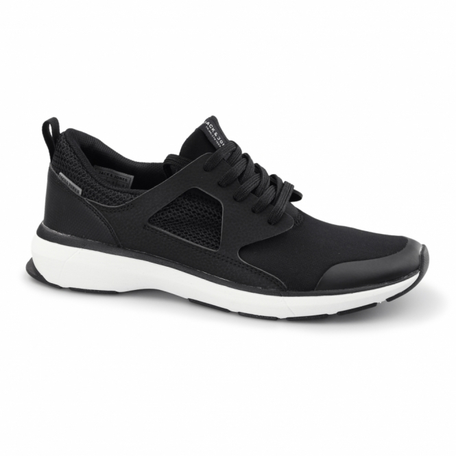 Jack & Jones HATTON Mens Trainers Anthracite Black