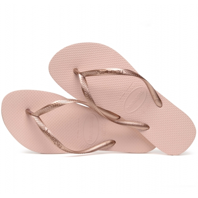 7c23cd325 Havaianas HAV SLIM Ladies Flip Flops Ballet Rose