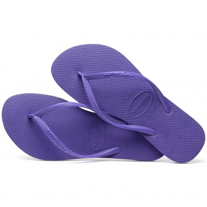 992a0d9131dd50 Havaianas HAV SLIM Ladies Flip Flops Purple