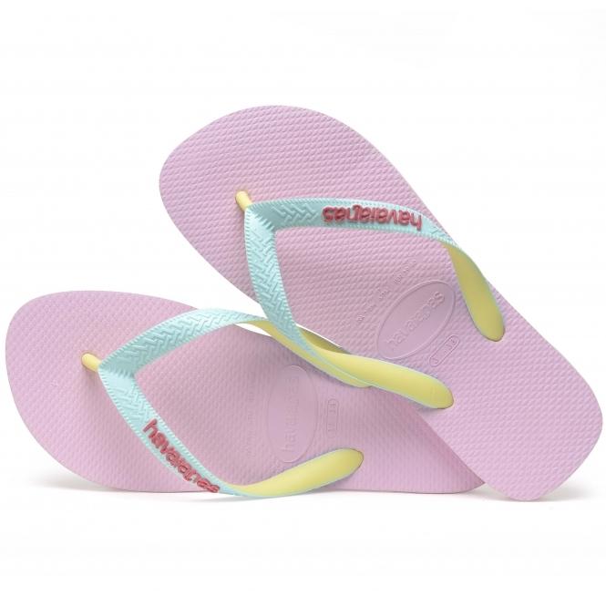 644591bac Havaianas HAV TOP MIX Ladies Flip Flops Rose Quartz Ice Blue