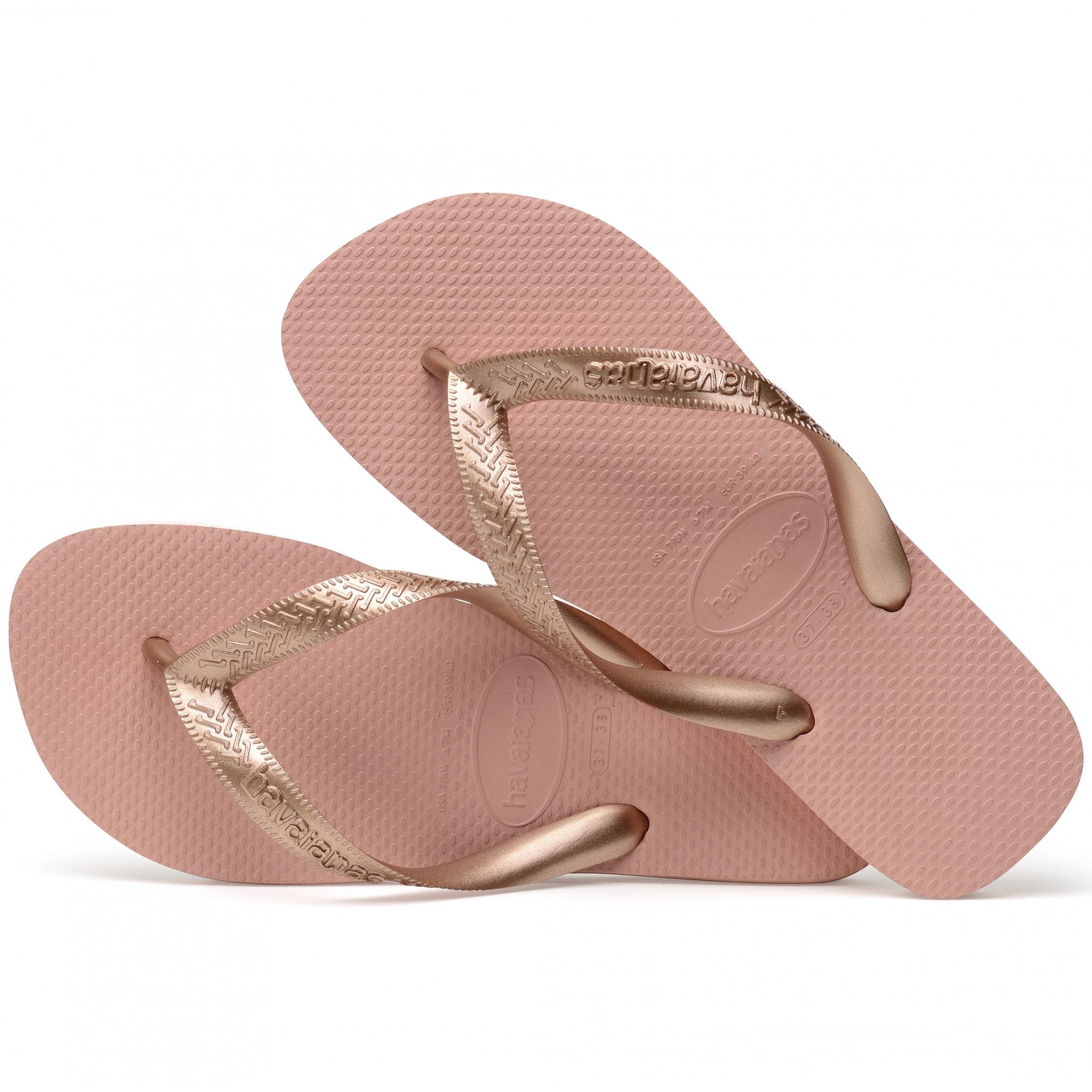 9dbda8ea3b92 Havaianas HAV TOP TIRAS Ladies Flip Flops Rose Nude