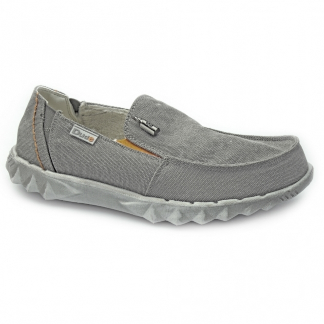 Hey Dude FARTY CHALET Mens Canvas Shoes Funk Grey