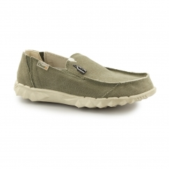 FARTY CLASSIC Mens Canvas Mule Shoes Musk
