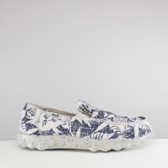 Hey Dude FARTY PRINT Mens Shoes Navy Flower