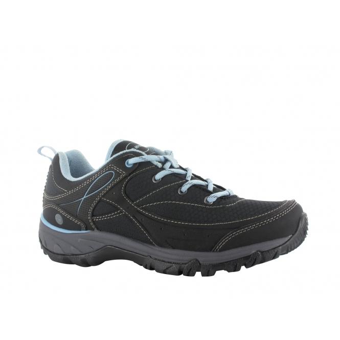 2ae8ecdbe7a4 Hi-Tec EQUILIBRIO BIJOU LOW I Ladies Walking Boots Black Blue
