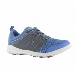 FLYAWAY II Ladies Sports Trainers Cornflower Blue/Grey