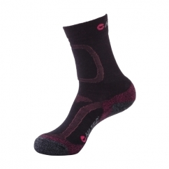 LIGHTWEIGHT Ladies Merino Wool Socks Navy/Viola