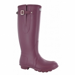 NEO Ladies Waterproof Wellington Boots Plum