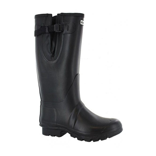 Hi-Tec NEO Mens Waterproof Wellington Boot Black