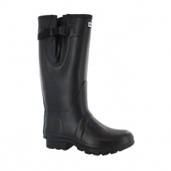 NEO Mens Waterproof Wellington Boot Black