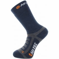 TREK MIDWEIGHT Mens Socks 2 Pairs Dark Midnight
