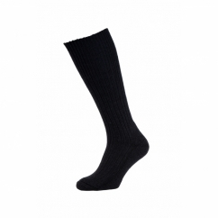 HJ3000 Commando Mens Half Hose Wool Rich Walking Socks Black