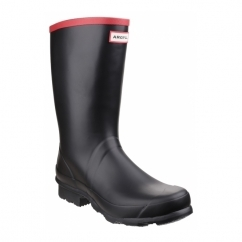 ARGYLL SHORT Unisex Non-Safety Wellington Boots Black