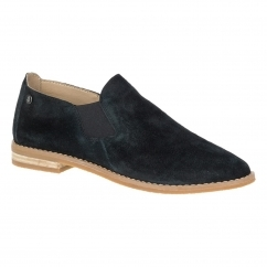 Hush Puppies ANALISE CLEVER Ladies Slip On Shoes Black