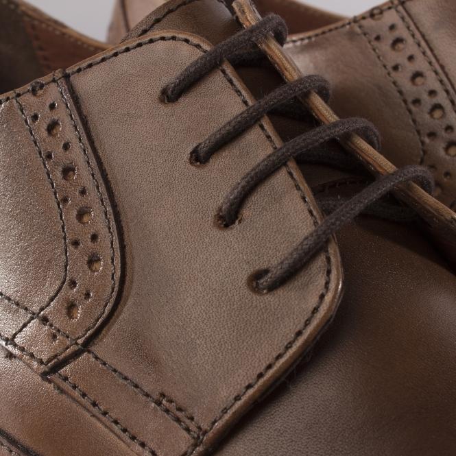 Hush Puppies Bertrand Wingtip Brown Leather Brogues Free UK P/&P!