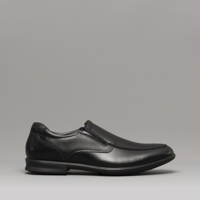 6d701ed48a2 CALE SLIP ON Mens Leather Shoes Black