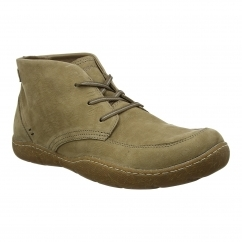 Hush Puppies FINNIAN SWAY Mens Lace Up Boots Taupe