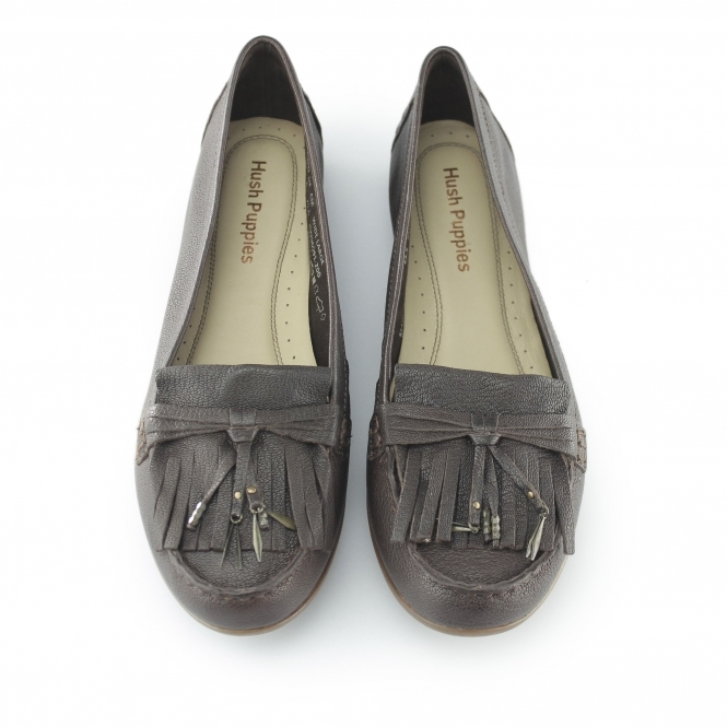ROBYN Hush Leather Ladies NAVEEN Loafers Shuperb Puppies Brown AnnqBwRvx