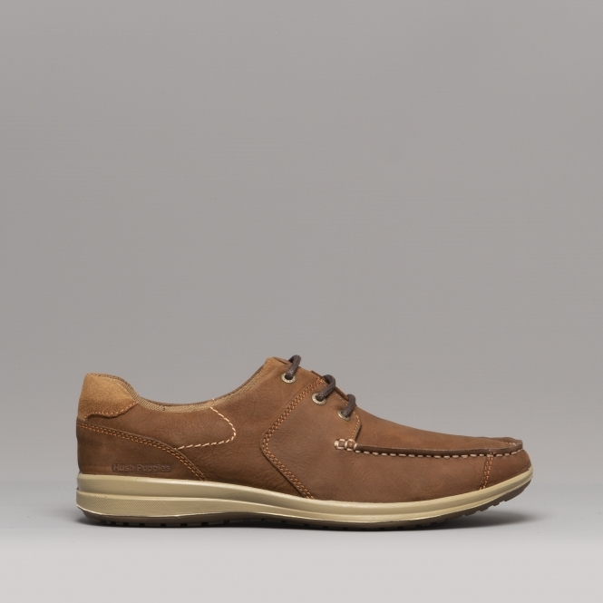 f72b7b55502 RUNNER MOCC LACE Mens Leather Casual Shoes Tan