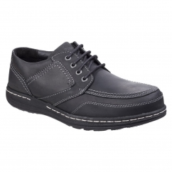 Hush Puppies VOLLEY VICTORY Mens Lace Shoes Black