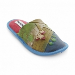 ICASA Unisex Novelty Slippers Red