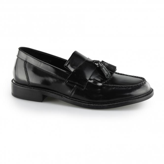 8c5c5f5289504 IKON SELECTA II Mod Tassel Loafers Black | Free UK Delivery | Shuperb