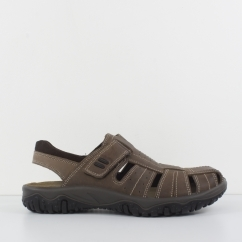 M136B Mens Colosed Toe Sandals Brown by IMAC