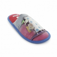 INERTE Unisex Novelty Slippers Red