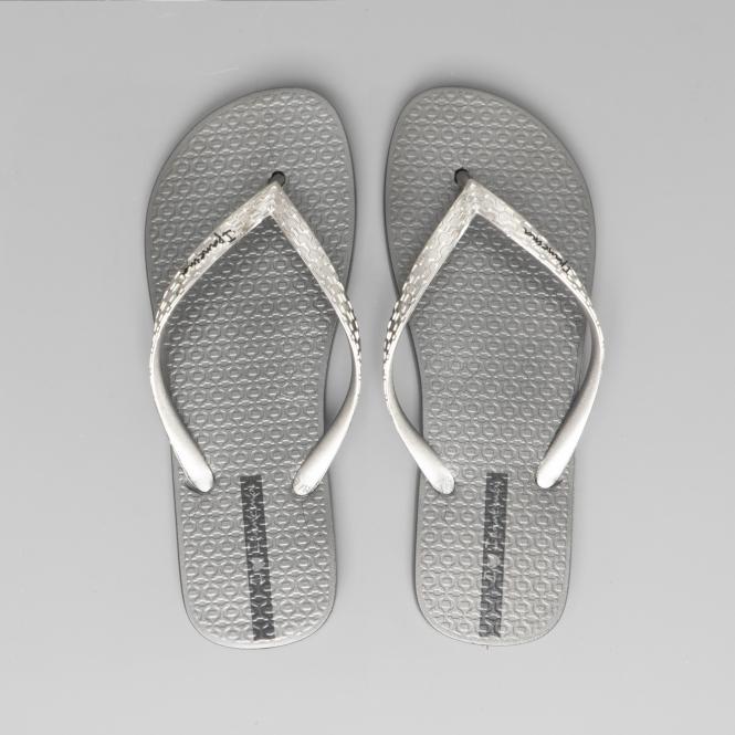 Ipanema Womens Flip Flops Anatomica Metallica Beach Sandals