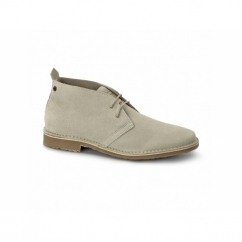 GOBI Mens Suede Leather Desert Boots Plaza Taupe