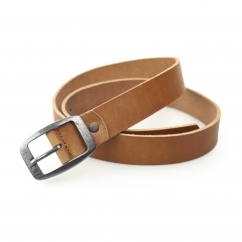 IMAX Mens Leather Belt Mocca Bisque