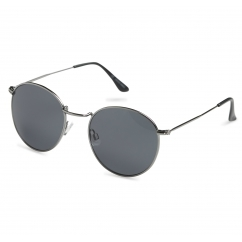 Jack & Jones JACLEO Metal Round Frame Sunglasses Blanc