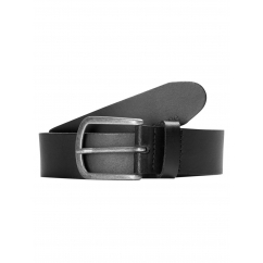 LACE Mens Leather Belt Black