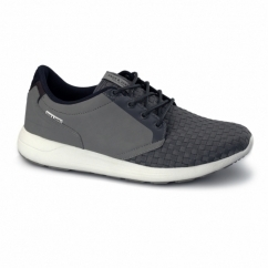 LAVAL Mens Smart Casual Trainers Frost Grey