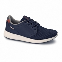 LAVAL Mens Smart Casual Trainers Navy Blazer