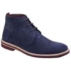Lambretta JACOB Mens Chukka Boots Navy