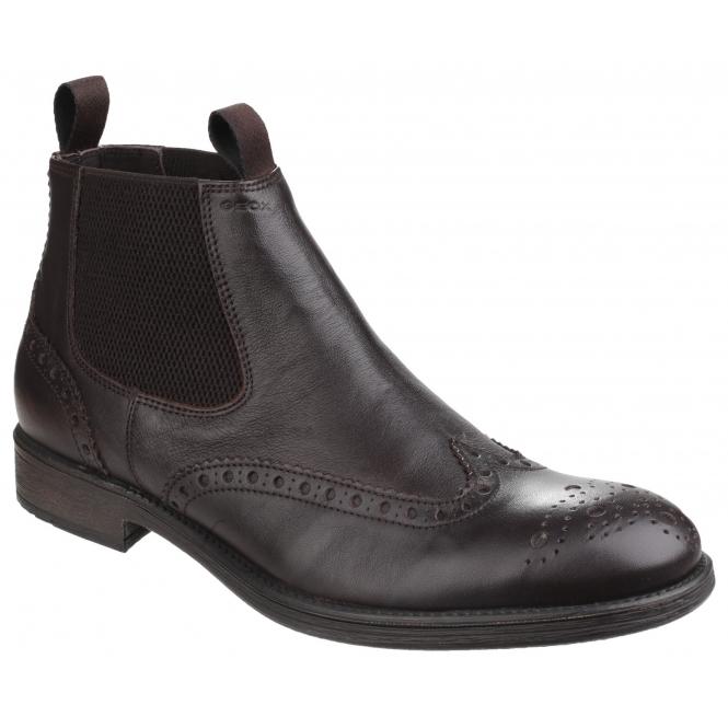 Geox Men's U Jaylon E Zip Boots UK8, Men's Fashion, Footwear