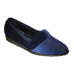 JESSIE Ladies Full Slippers Blueberry