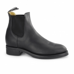 JODHPUR Unisex Leather Chelsea Boots Black