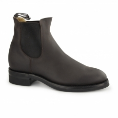 JODHPUR Unisex Leather Chelsea Boots Brown