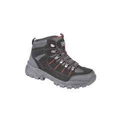 SIERRA Unisex WP Hiking Boots Black