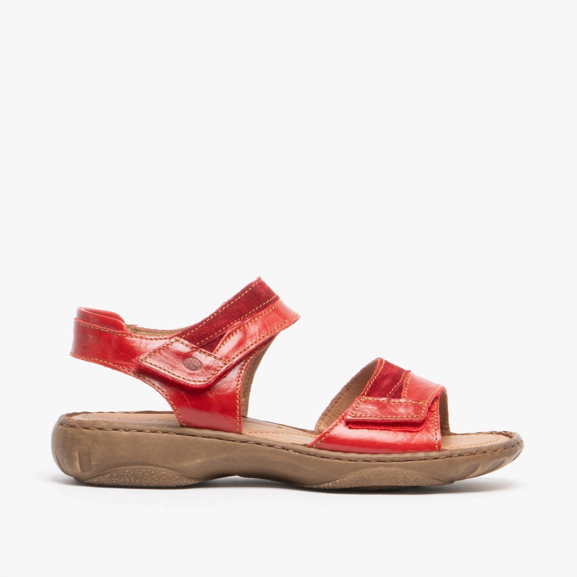 Josef Seibel DEBRA 19 Ladies Womens Genuine Smooth Leather Touch Fasten Sandals