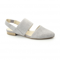 JOTHAM PHOEBE Ladies Suede Leather Summer Sandals Frost Grey
